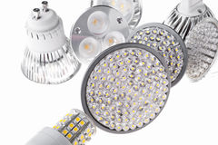 LED lights bulb Royalty Free Stock Photos