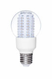 LED lights bulb isolated of white Royalty Free Stock Photo