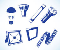 LED lights Royalty Free Stock Photo