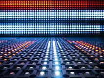 Led lights digital Technology Abstract Pattern background Stock Photography
