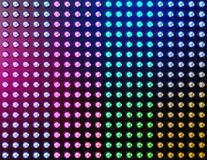 Led lights effect background Royalty Free Stock Photo
