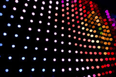LED lights panel Royalty Free Stock Images