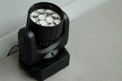 LED Moving Head Lights equipment Stock Photo