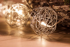 LED nella gabbia Fotografia Stock