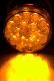 led orange Στοκ εικόνες με δικαίωμα ελεύθερης χρήσης