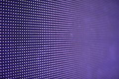 Glowing led panel. abstract purple background. Stock Photography