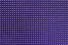 Glowing led panel. abstract purple background. Stock Image