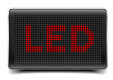 LED Panel Royalty Free Stock Photos