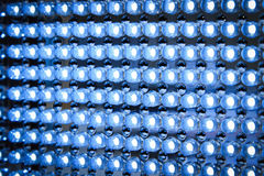 Led panel in fluorescent light close up Royalty Free Stock Image