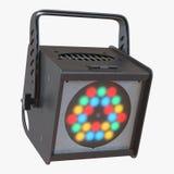 LED Par Can Light on white. 3D illustration Royalty Free Stock Images