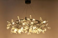 Led pendant  lighting Royalty Free Stock Image