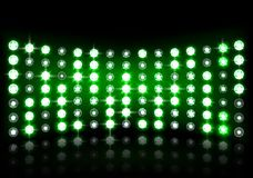 Led projection screen. Illustration of Led projection screen Royalty Free Stock Photos
