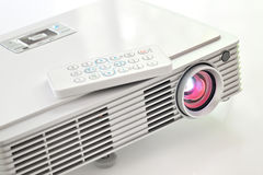 Led projector. Shoot in studio Stock Photos