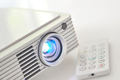 Led projector. Shoot in studio royalty free stock images