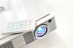 Led projector. Shoot on white background Royalty Free Stock Photos