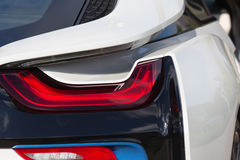 The LED rear lights of the car Stock Photography