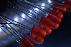 LED rosso immagine stock libera da diritti
