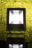 LED-Scheinwerfer auf dem Hintergrund defocused Lizenzfreies Stockbild