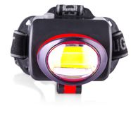 LED-Scheinwerfer lokalisiert auf Weiß Lizenzfreies Stockfoto