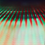 LED-Schirm - naher hoher Hintergrund Lizenzfreie Stockfotografie