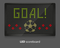 LED scoreboard Royalty Free Stock Photos