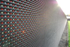 LED perimeter screen  Stock Photography