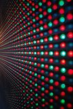 LED Screen. Close-up of the Matrix of a Screen made of multiple LEDs stock photos