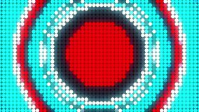 LED screen dots abstract background, 3d rendering computer generating, LED display technology display