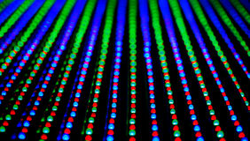Led screen panel texture. RGB LED screen panel texture Royalty Free Stock Images