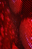 Led screen red. Background diagonal blur Stock Photo