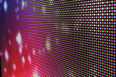 Led screen - Rgb background. Led screen - Rgb color background close up Royalty Free Stock Photo