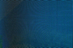 LED screen SMD blue. Background Stock Images