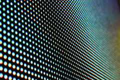 LED screen surface stock image