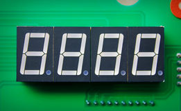 LED 7-Segment Stock Image