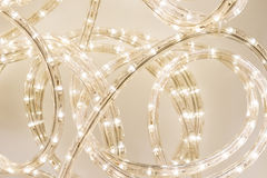 LED-Seil-Licht Stockfotos