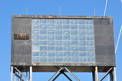 A led signboard. It is a led signboard stock photo