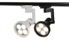 Led track light Stock Images