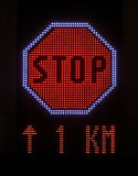 LED Stop Stock Photography