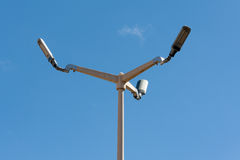 LED-Straßenlaterne Lizenzfreie Stockfotografie
