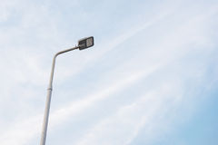 LED street lamp Stock Photo