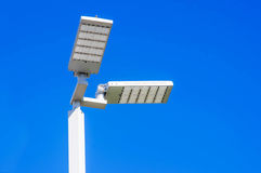 LED Street Lamps Royalty Free Stock Image