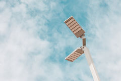 LED Street Light on blue sky