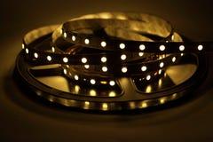 LED-Streifen-Beleuchtung Stockbild