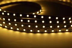 LED-Streifen-Beleuchtung Lizenzfreie Stockfotos