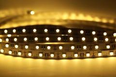 LED-Streifen-Beleuchtung Stockfotos