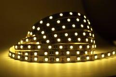LED-Streifen-Beleuchtung Stockbilder