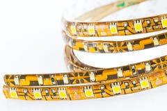 LED-Streifen vergleichen Stockfoto