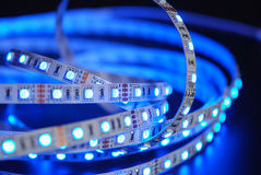 Led strip Royalty Free Stock Images