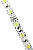 LED strip isolated Royalty Free Stock Image