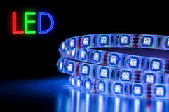 LED Strip Licht Streifen Stock Photography